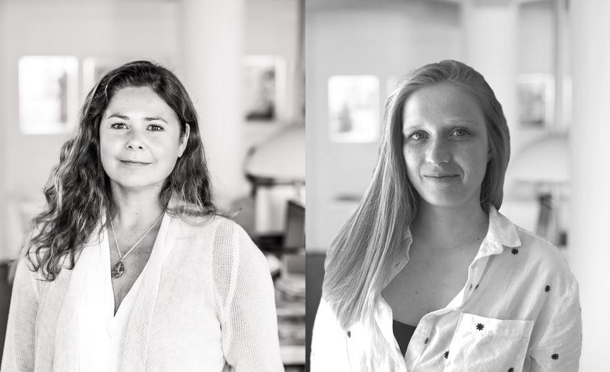 Hanneke Niens en Josie Taalman